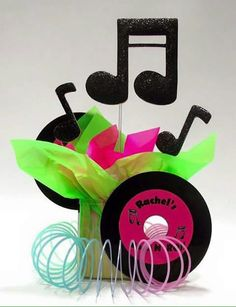 Trendy Ideas For Music Party Theme Ideas Sock Hop 50s Theme Parties, 80s Birthday Parties, Music Themed Parties, Music Party, Party Themes, 80s Theme, Party Ideas, Theme Ideas, 70th Birthday