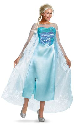 Disney Frozen Elsa Deluxe Adult Costume