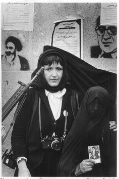 ©Sylvain Julienne, Téhéran, 1979
