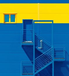 Wallpaper Backgrounds Aesthetic - blue yellow by Igor Bakotic Fred Instagram, Colour Architecture, Minimal Photography, Blue Aesthetic, Color Stories, Primary Colors, Background Images, Blue Yellow, Wallpaper Backgrounds