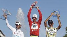 Los 'capos' de la Vuelta a España 2011 están en Twitter