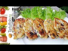 Готовьте сразу побольше! Вкусная и быстрая закуска! - YouTube Zucchini Aubergine, Sushi, Meat, Chicken, Vegetables, Ethnic Recipes, Food, Youtube, Russian Recipes