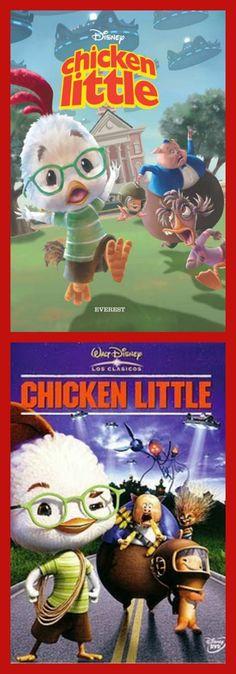 CHICKEN LITTLE. Chicken Little tiene un gran problema: sabe que unos alienígenas están a punto de atacar a su pueblo, Oakey Oaks, pero también sabe que los vecinos no le van a creer. Debido a un lamentable incidente el año anterior, la credibilidad de este pollito está en entredicho; ni siquiera su propio padre le cree. Sólo sus amigos Abb y, Runt y Pez creen en él, y gracias a ellos podrá hacer algo para salvar a su pueblo de un peligro inminente...