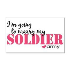 I love my soldier, my hero, my best friend. I cannot wait to spend the rest of my life with him. RDH <3