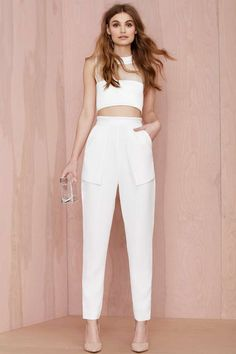 Cameo On Top Layered Trouser