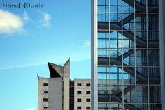 Manchester's Altrincham Street Architectural by NanuArtStudio, £12.50