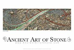 "Ancient Art of Stone - Love Story (14"" x 38"" Open Edition), $125.00 (http://store.ancientartofstone.com/love-story-14-x-38-open-edition/)"