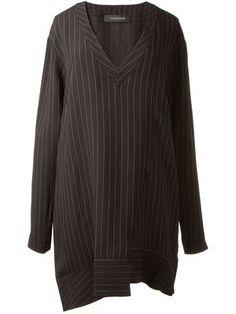 Thakoon   Pinstripe Jersey Dress   Farfetch
