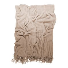 Nice simple image of this Shade Throw in sand, available online from Occa-Home