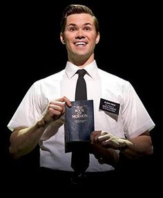 "Andrew Rannells in ""The Book of Mormon"""