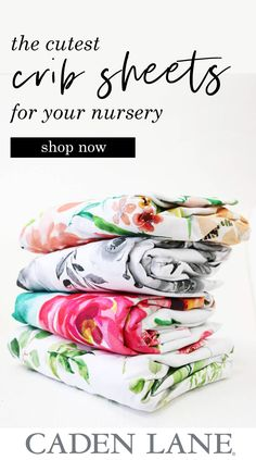 These are the absolute cutest crib sheets I've found for the nursery! Soo many adorable patterns and prints and the florals! You'll be sure to find something to create your perfect nursery. Bunny Nursery, Girl Nursery, Nursery Ideas, Nursery Organisation, Floral Crib Sheet, Airplane Nursery, Baby Boy Quotes, Baby Equipment, Nursery Furniture