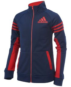 a9b2156b adidas League Track Jacket, Little Boys & Reviews - Coats & Jackets - Kids  - Macy's