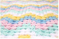 Pastels Chevron Baby Blanket, Chevron Crochet Baby Blankets,Granny Square Afghan,Chevron Baby Afghan,Chevron Nursery Bedding,Chevron Nursery by CCBR2014 on Etsy