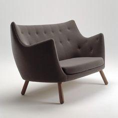 Poeten af Finn Juhl. Sådan en sofa vil jeg bare gerne eje en dag.