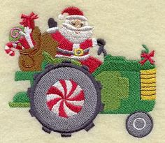 Machine Embroidery Designs at Embroidery Library! - Country Christmas