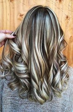 2020 Fashion Blonde Wigs For White Women Affordable 613 Wig Beige Blon - Wcwigs Ombre Hair Color, Cool Hair Color, Brown Hair Colors, Different Hair Colors, Brunette Color, Blonde Color, Dark Hair With Highlights, Colored Highlights, Dramatic Highlights