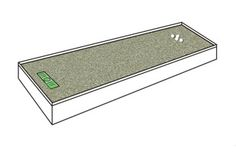Build your own putting green using a Puttacup.