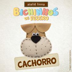 Aprenda a fazer cachorrinho de feltro.  http://www.lojaslinna.com.br/blog/cachorrinho-feltro