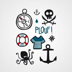 Playboy des fonds marins tattoo by bernard forever