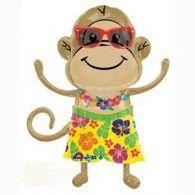 Party Time Celebrations  - Monkey Luau Foil Shape Balloon, $12.95 (http://www.partytimecelebrations.com.au/monkey-luau-foil-shape-balloon/)