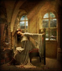 the lady of shalott poem | Broken Reality: March 2011
