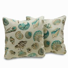 Folly Coastal 18-inch Decorative Throw Pillows (Set of 2)