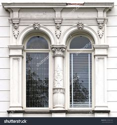 Architecture And Windows Of Ancient Renaissance Style Classical ...