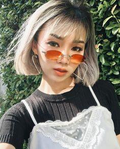 How Korean Girls Style Their Bangs in the Cutest Way  :: iamkareno