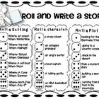 My students LOVE the roll and write activity for Work on Writing. Here is a great one to laminate and add to your writing station or workshop! Enjo...