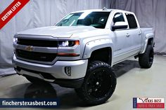 COME AND SEE FOR YOURSELF!!! >>> 2017 #Chevrolet #Silverado 1500 LT #CustomLifted - One Owner.....Free CarFax.....50+ Lenders - Call Oscar Mejia at 281-931-3900 for more details!! fincherstexasbest.com #TRUCKCITY #trucksforsale Chevy 1500, 2018 Chevy Silverado 2500, Lifted Silverado, Lifted Chevy Trucks, Gm Trucks, Chevrolet Trucks, Truck Mods, Pickup Trucks, Diesel