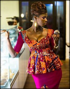 African print ~African Prints, African women dresses, African fashion styles, african clothing