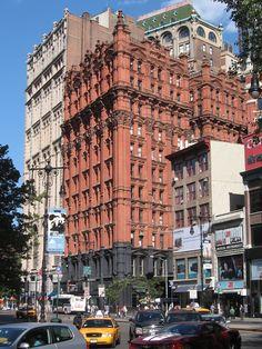 Potter Building, Park Row