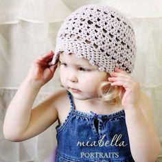 picot #crochet hat pattern @craftsy
