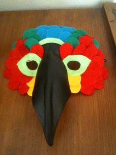 Bird Mask : Viola! Polly wants a cracker!