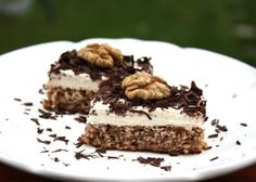 Orechovo - tvarohový koláč bez múky , Delená strava - recepty, Zákusky, Diétne koláče, recept | Naničmama.sk