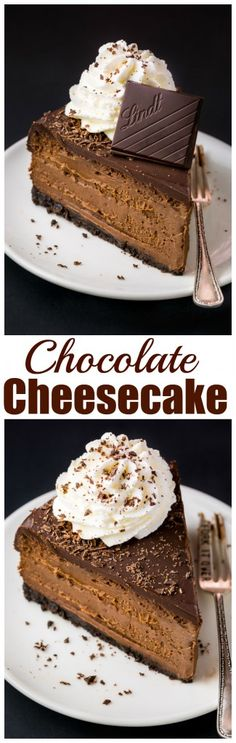 Mascarpone Cheesecake Rich and creamy Chocolate Mascarpone Cheesecake!Rich and creamy Chocolate Mascarpone Cheesecake! Just Desserts, Delicious Desserts, Dessert Recipes, Yummy Food, Delicious Cookies, Bakery Recipes, Food Cakes, Cupcake Cakes, Cupcakes
