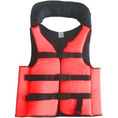 2c355d86b Colete Salva Vidas Auxiliar Flutuação Pesca Advance Vermelho 120kg