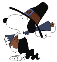 Snoopy borrowed clip art from fun places