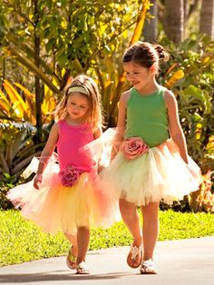 love this tutu for flower girl