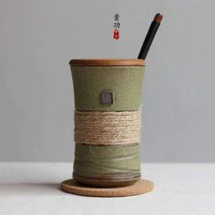 """HOT PRICES FROM ALI - Buy """"Japanese style vintage bands individuality brief ceramic mug cup belt with cover and spoon coffee cup gift cup"""" for only 15 USD. Vintage Cups, Vintage Ceramic, Japanese Style, Vintage Japanese, Style Japonais, Japanese Ceramics, Coffee Gifts, Ceramic Cups, Kitchens"""