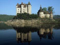 Château de Val, Cantal, France