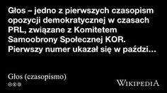 """""""Głos (czasopismo)"""" på @Wikipedia: Workers Union"""