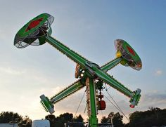 carnival rides - I felt I could conquer the world after riding this!