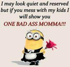 . Minions 1, Minions Love, Funny Minion, Best Quotes, Funny Quotes, Random Quotes, I Will Show You, Good Morning Quotes, Quotable Quotes