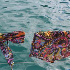 Pants 'hot summer' C19-020 Baumwolle, Floraldruck, Farbmix Couture, Hot, Summer, Bikinis, Pants, Recife, Del Mar, Brazil, Cotton