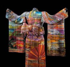 glass art, sculptures, glasses, sunsets, autumn sunset, the artist, glass sculptur, kimonos, woven glass