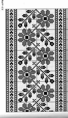 Cross Stitch Bird, Cross Stitch Flowers, Cross Stitch Designs, Cross Stitch Embroidery, Cross Stitch Patterns, Filet Crochet, Crochet Doilies, Hand Embroidery Design Patterns, Crochet Bag Tutorials
