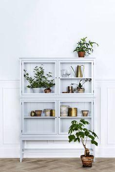 grey glass scandinavian cabinet by nubie modern kids boutique | notonthehighstreet.com