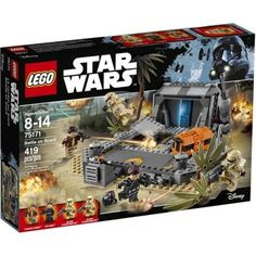 LEGO Star Wars Battle On Scarif 75171 Ages 8 - 14 Play Out Exciting Epic Scenes  #LEGO