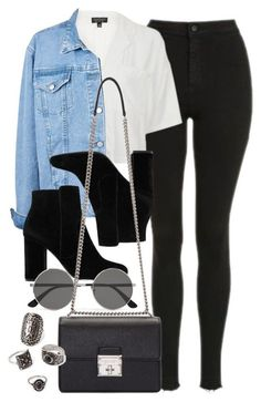 Style #11629 by vany-alvarado on Polyvore featuring polyvore, fashion, style, Topshop, MANGO, Dolce&Gabbana, Forever 21, Yves Saint Laurent and clothing
